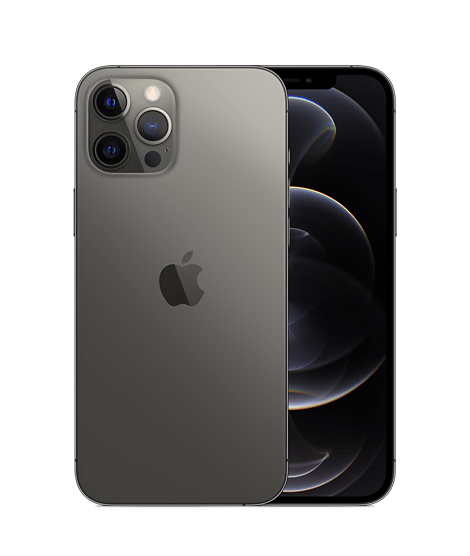 iphone 12 pro max graphite hero