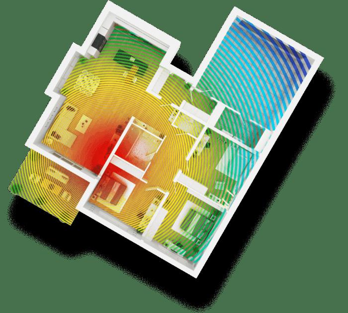 Couverture Wi-Fi 5 (802.11 AC)
